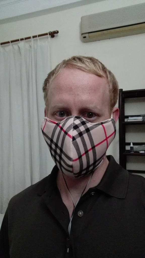 My anti-pollution mask