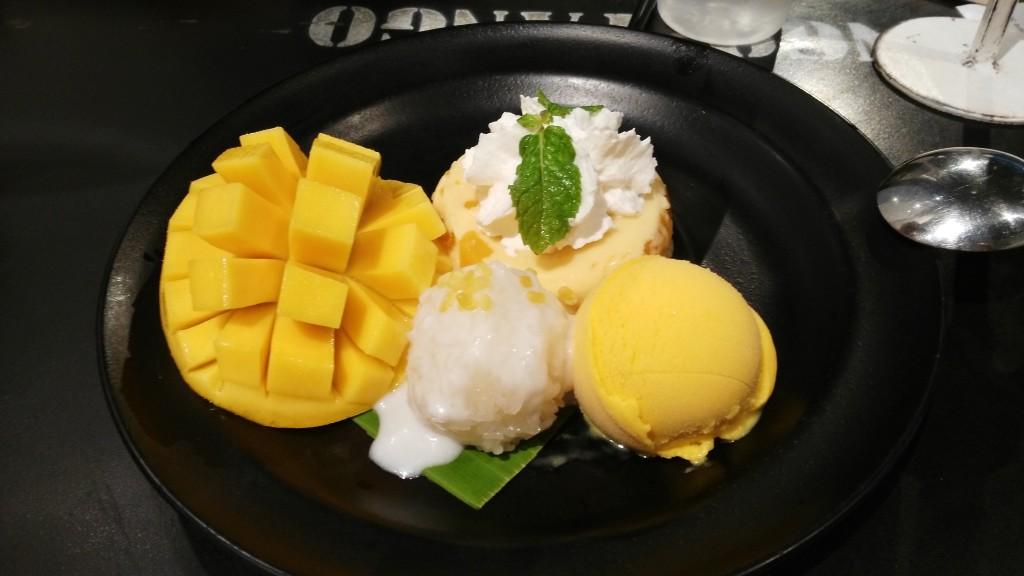 Mango desert at Mango Tango