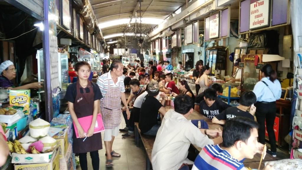 Bangkok food stall